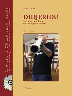 cover image of Didjeridu. Suonare un albero, tecniche, frequenze e benefici
