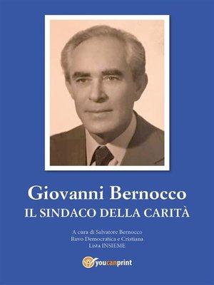 cover image of Giovanni Bernocco. Il sindaco della carità