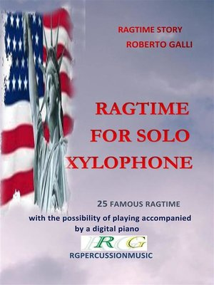 cover image of Ragtime For Solo Xylophone