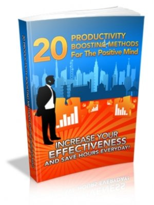 cover image of 20 Productivity Boosting Methods For the Positive Mind