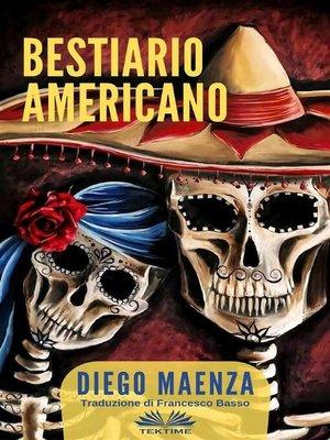 cover image of Bestiario Americano