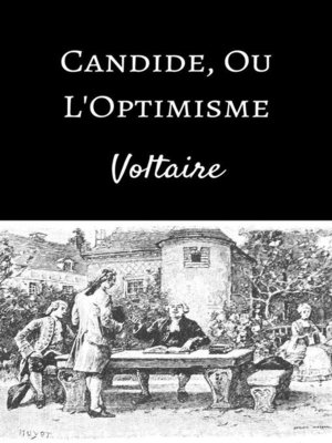 cover image of Candide, ou l'Optimisme