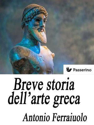 cover image of Breve storia dell'arte greca