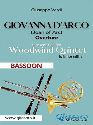 cover image of Giovanna d'Arco--Woodwind Quintet (BASSOON)
