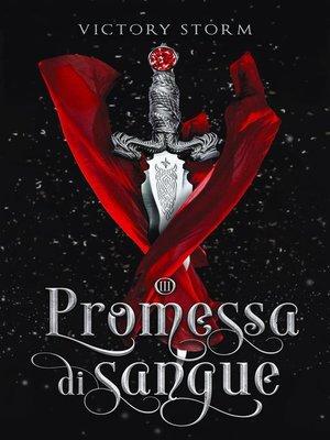 cover image of Promessa di sangue
