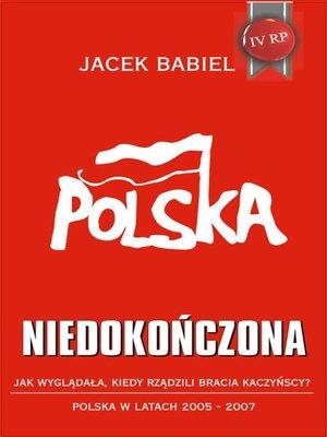 cover image of Polska niedokończona