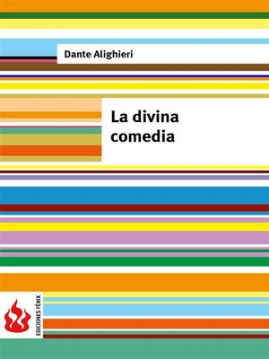 cover image of La divina comedia (low cost). Edición limitada