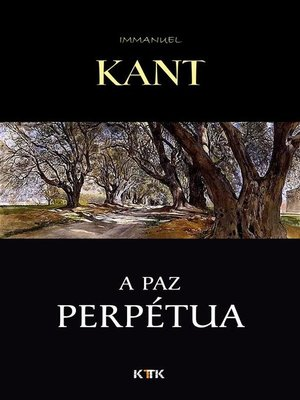 cover image of A Paz Perpétua