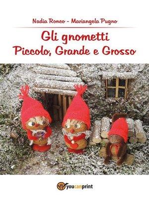 cover image of Gli Gnometti, Piccolo, Grande e Grosso