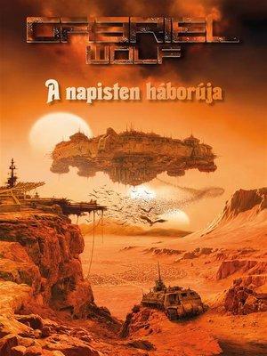cover image of A napisten háborúja