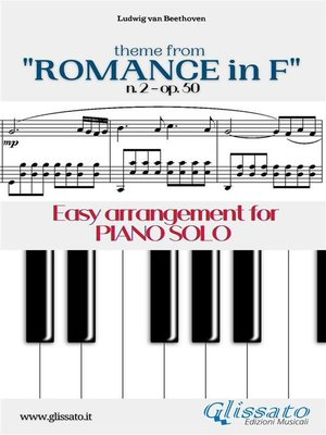 """cover image of Theme from """"Romance in F"""" Easy for Piano Solo"""