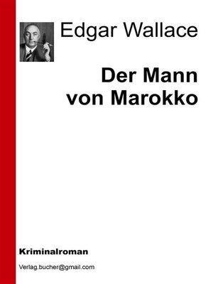 cover image of Der Mann von Marokko
