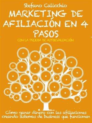 cover image of Marketing de afiliación en 4 pasos