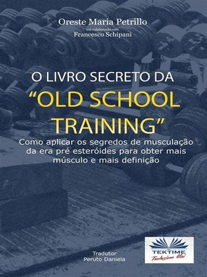 "cover image of O Livro Secreto da ""Old School Training"""