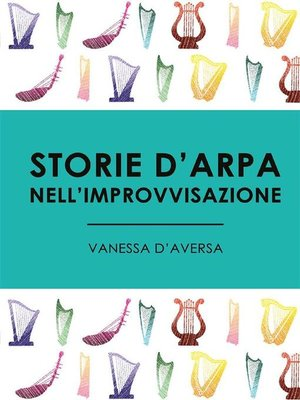 cover image of Storie d'arpa nell'improvvisazione
