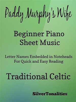 cover image of Paddy Murphy's Wife Beginner Piano Sheet Music