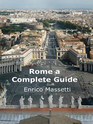cover image of Rome a Complete Guide