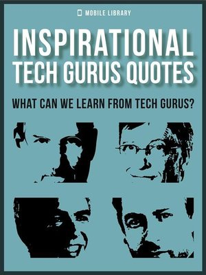 cover image of Inspirational Tech Gurus Quotes
