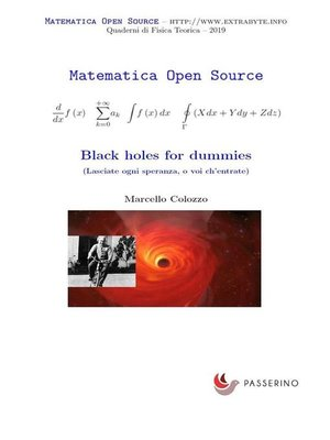 cover image of Black holes for dummies