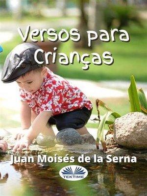 cover image of Versos Para Crianças