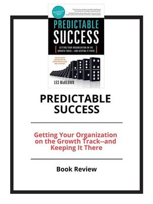 cover image of Predictable Success