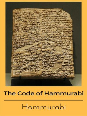 essay on the code of hammurabi The code of hammurabi, now about 3500 years old is a very important piece of historical evidence in this regard it shows us how one of the first sets of laws worked this essay will provide a brief outline of this code and provide more detail.