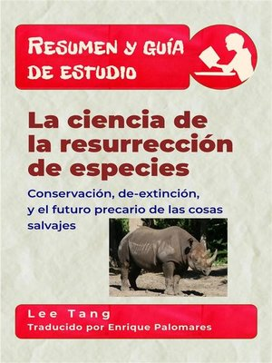 cover image of Resumen Y Guia De Estudio--La Ciencia De La Resurrección De Especies