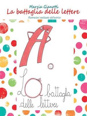 cover image of La battaglia delle lettere