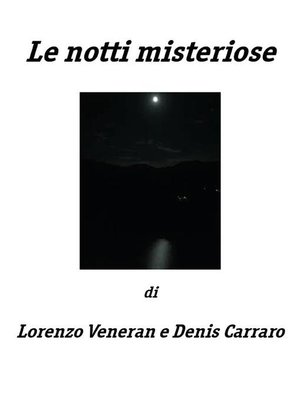 cover image of Le notti misteriose