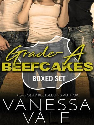 cover image of Grade-A Beefcakes Complete Boxed Set--Books 1--5
