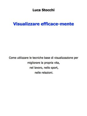 cover image of Visualizzare efficace-mente