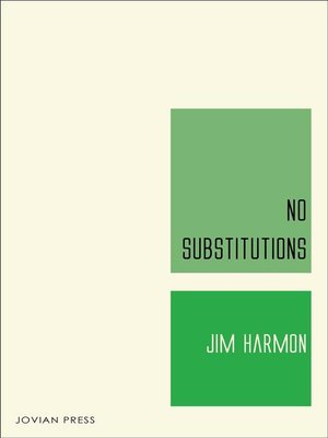 cover image of No Substitutions
