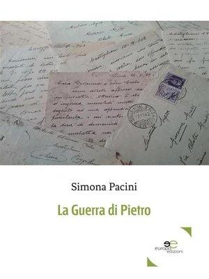 cover image of La guerra di Pietro