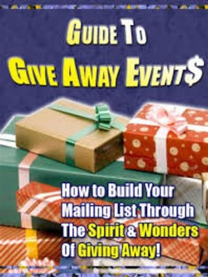 cover image of Guide to Give Away Events