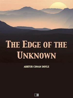 cover image of The Edge of the Unknown