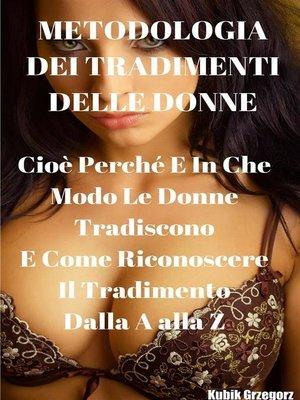 cover image of Metodologia dei tradimenti delle Donne