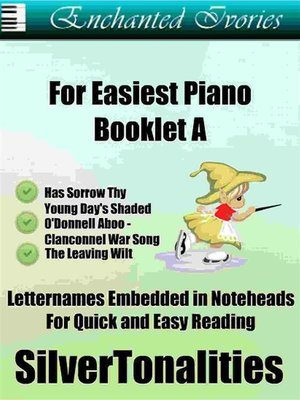 cover image of Enchanted Ivories for Easiest Piano Booklet T