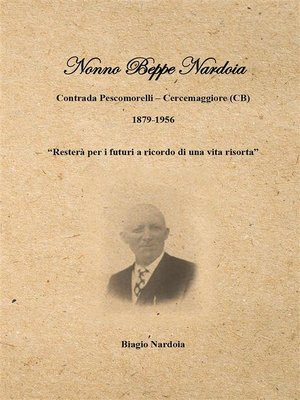 cover image of Nonno Beppe