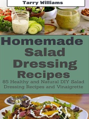 cover image of Homemade Salad Dressing Recipe