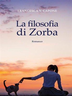cover image of La filosofia di Zorba