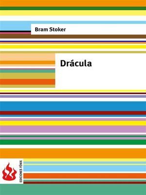 cover image of Drácula (low cost). Edición limitada