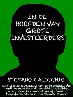 cover image of In de hoofden van grote investeerders