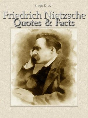 cover image of Friedrich Nietzsche--Quotes & Facts