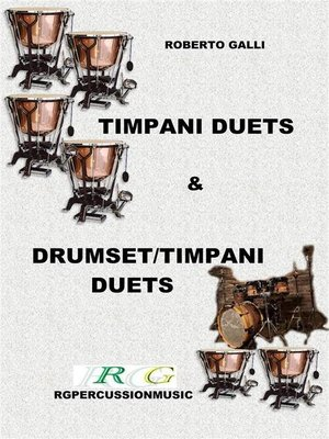 cover image of Timpani duets & Timpani/drumset duets