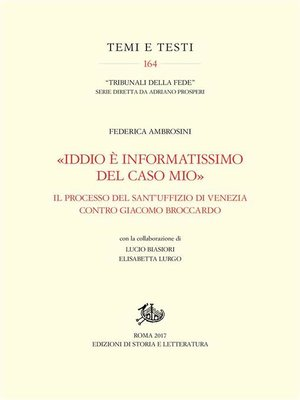 cover image of «Iddio è informatissimo del caso mio»