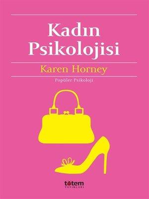 cover image of Kadın Psikolojisi