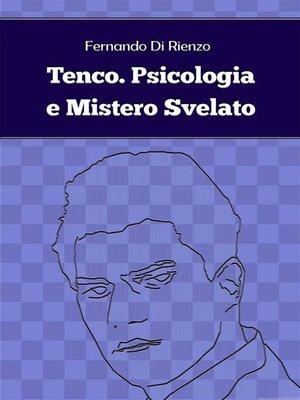cover image of Tenco. Psicologia e Mistero Svelato