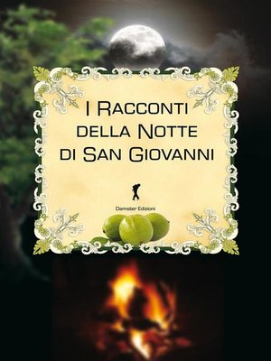 cover image of I racconti della notte di San Giovanni