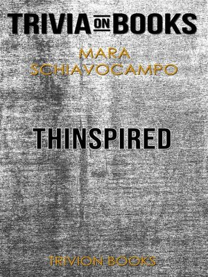 cover image of Thinspired by Mara Schiavocampo (Trivia-On-Books)