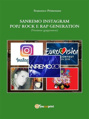 cover image of Sanremo, pop, Instagram e rock e rap generation. Ediz. giapponese